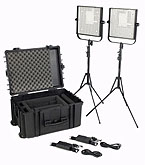 Litepanels 903-6101 (1×1 LS Traveler Duo Kit)